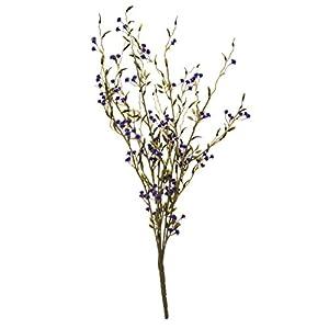 "Artificial Floral Wild Grass Bush 23"" 49"
