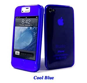 Funda integral Shades - iPhone 4/4S - Color Azul Oscuro - Cool Blue