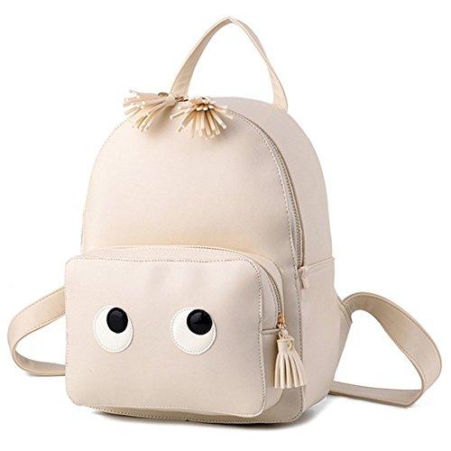 Cherrygoddy Cartoon Student Backpack Pu Handbags(3)