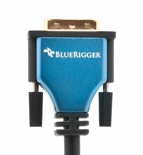 BlueRigger DVI to HDMI Cable (6.6 Feet, Monitor Cable, Male to Male, Black)