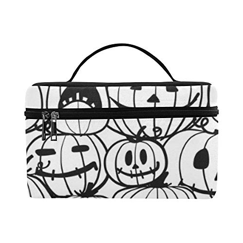 Halloween Pumpkins Your Design Lunch Box Tote Bag Lunch Holder Insulated Lunch Cooler Bag For Women/men/picnic/boating/beach/fishing/school/work -