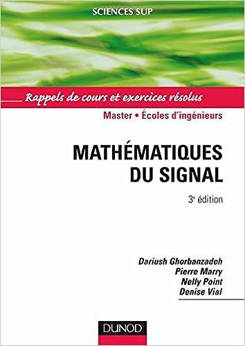 Lire Mathématiques du signal - Rappels de cours et exercices résolus pdf ebook