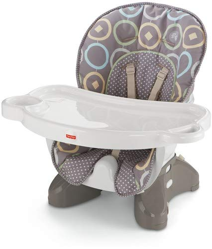 Fisher-Price SpaceSaver High Chair, Luminosity [Amazon Exclusive] (Fisher Price Chair High Girls)