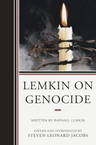 Lemkin on Genocide by Steven Leonard Jacobs (2014-03-12)