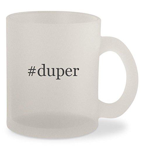 #duper - Hashtag Frosted 10oz Glass Coffee Cup - Karen Bag Walker