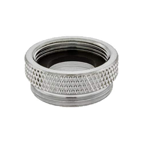 Female 3//4-27 Top Threads Male 55//64-27 Bottom Threads Male 55//64-27 Bottom Threads Female 3//4-27 Top Threads Chrome Finish Pack of 50 Solid Brass Neoperl 15 3410 4 Faucet Adapter Pack of 50