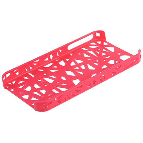 TOOGOO (R) Custodia rigida caldo rosa Birds Nest Case per Apple iPhone 4G, 4GS