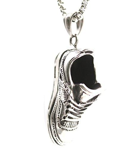 Fashion Shoe Pendant (Titanium Stainless steel fashion sport fan's shoe pendant necklace for men and women)