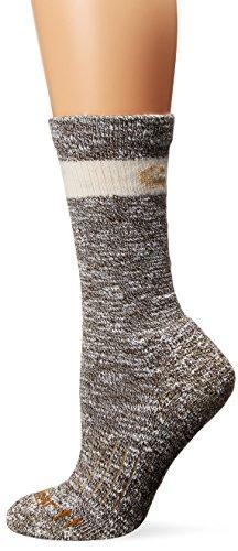 Carhartt Women's Merino Wool Blend Hiker Crew Socks, Brown, Shoe Size: 5.5-11.5 (The Best Soccer Boots Ever)