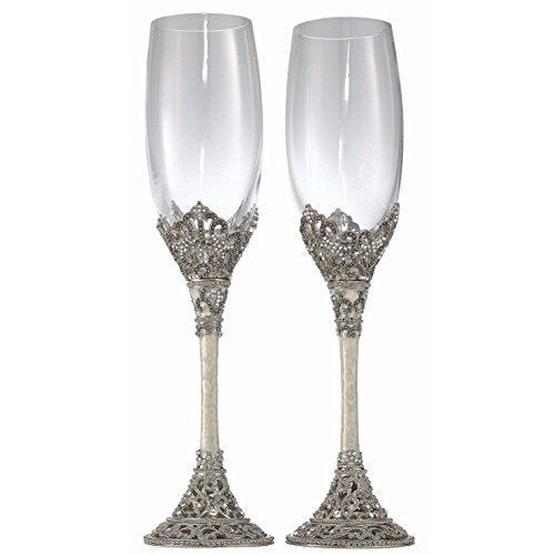 Olivia Riegel Celebration Flute Pair - 8 oz. by Olivia Riegel