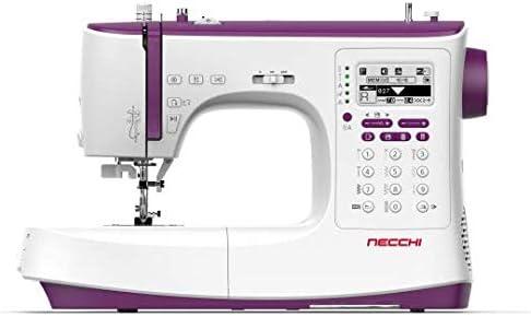 Necchi NC-204D - Máquina de coser computarizada + mesa ext