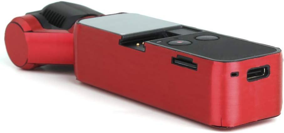 LIPOVOLTProtective Film Sticker Skin PVC for DJI OSMO Pocket Handheld Gimbal Camera Red