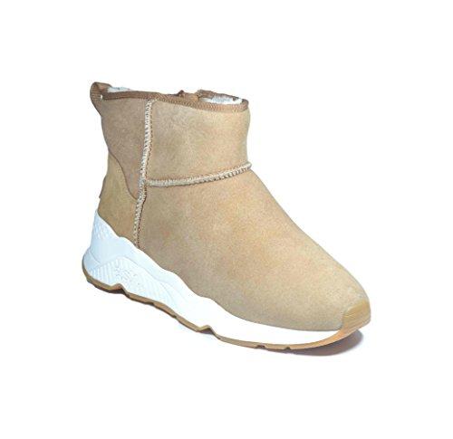 Miko Montone Gomma Boot Sneaker Ash Fondo Camel fBndSfxR