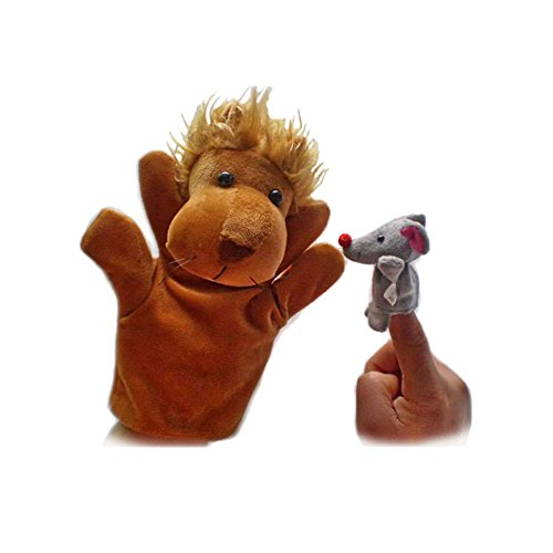 iecool-aesops-fables-finger-puppets-for-the-lion-and-the-mouse