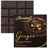 Thorntons Choc Blocks Ginger 70% Dark Chocolate Bar 80g