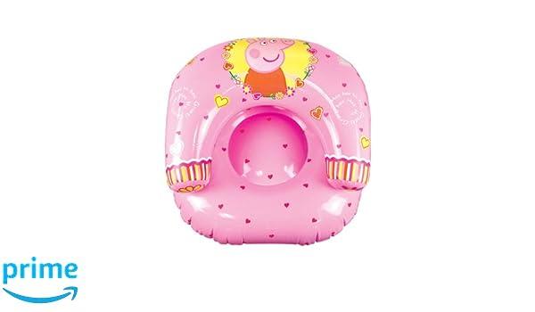 Peppa Pig Character World diseño de lunares hinchable luna silla ...