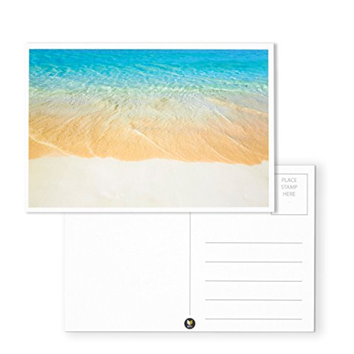 Nautical Beach Seaside Postcards - 40 Glossy Postcards - Bulk Set - Featuring Boats, Lighthouses, Sea Shells, Sand Castles - 4 x 6 Inches Photo #2
