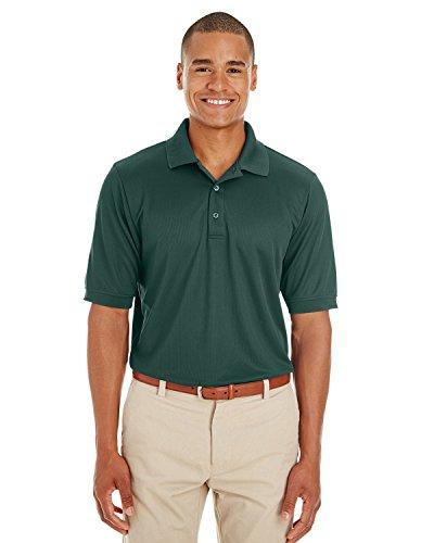 Averill's Sharper Uniforms Men's Textured Athletic Mesh Polo Shirt 4XL Electric Blue