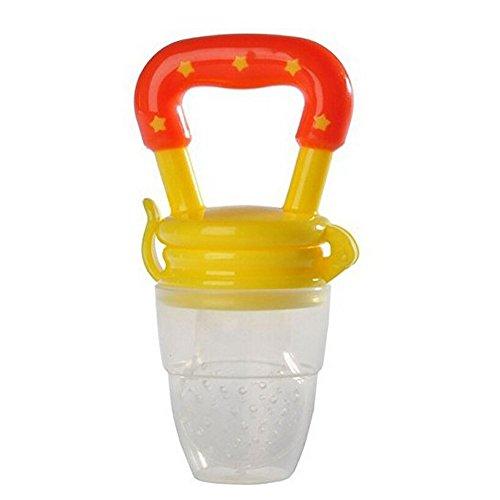 Silicone Baby Feeder Feeding L (yellow) - 6