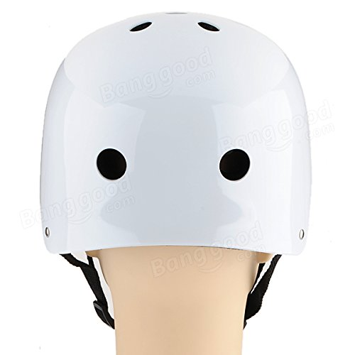 Roller Skate Scooter Helmet Skateboard Skiing Cycling Helmet Size M ( Silver ) by Freelance Shop SportingGoods (Image #4)
