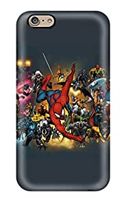 Alpha Analytical's Shop Tpu Case Cover For Iphone 6 Strong Protect Case - Marvel Design
