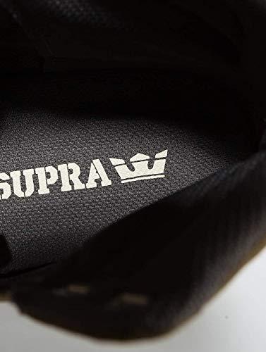 Ginnastica Supra Aluminum Scarpe Oliva Da Basse Uomo tw41Rqw0