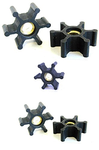 Utility Pump Replacement Impeller part for Maresh Products Water Transfer pump MP Mini (5 Impellers)