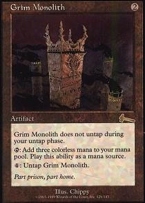 Magic: the Gathering - Grim Monolith - Urza's Legacy by Magic: the Gathering