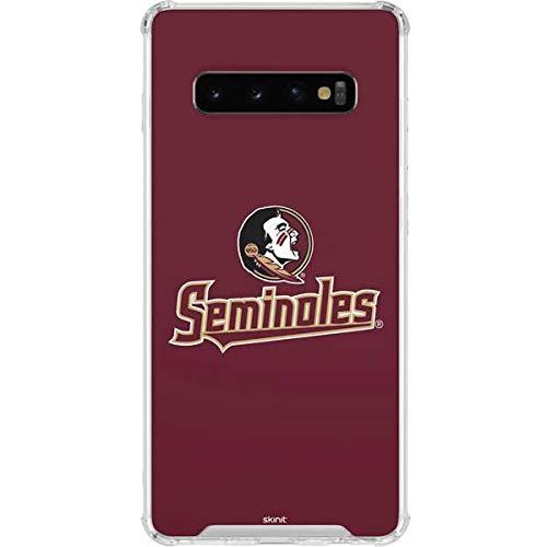 64a7342030cf8 Amazon.com: Skinit FSU Seminoles Galaxy S10 Clear Case - Officially ...