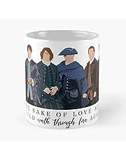 Sam Heughan Fraser Outlander Jamie Show Best 11oz keramische koffie mok Eten Eten Bijt John Best 11oz keramische koffie mok!