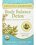 Lifestyle Awareness Body Balance Detox Tea, 20 Teabags