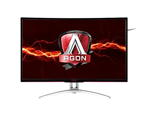 AOC Agon AG322QCX - Monitor LED Curvado (32', FreeSync, VA Panel, 2560x1440, 4ms, 300cd/m2, HA, VGA, (2) HDMI, (2) DP, SPK
