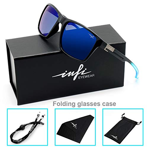Fishing Polarized Sunglasses for Men Driving Running Golf Sports Glasses Square UV Protection Designer Style Unisex 7