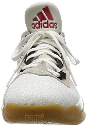 D Basket Rosso Bianco Uomo adidas Negbas Scarpe Nero 2 Lillard Ftwbla Escarl da pdfw4Zq