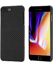 pitaka iPhone 8 Plus/iPhone 7 Plus Case, MagCase Aramid Fiber[ Body Armor Material] Phone Cover