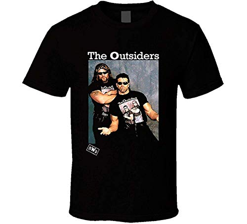 Mr.C Golden Outsiders NWO Wrestling T Shirt L for sale  Delivered anywhere in USA