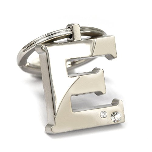 New Arrival Initial Letter E Key Ring with Pouch Bag Z79-M0716 (Letter Ring Initial)