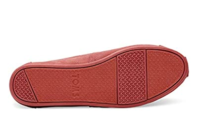 TOMS Women's Classics Slip-On Shoes Faded Rose Microfiber 8
