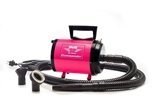 Metrovac's Air Force Commander Professional Pet Grooming Dryer - Portable, 2 Speed 4.0HP Motor -...