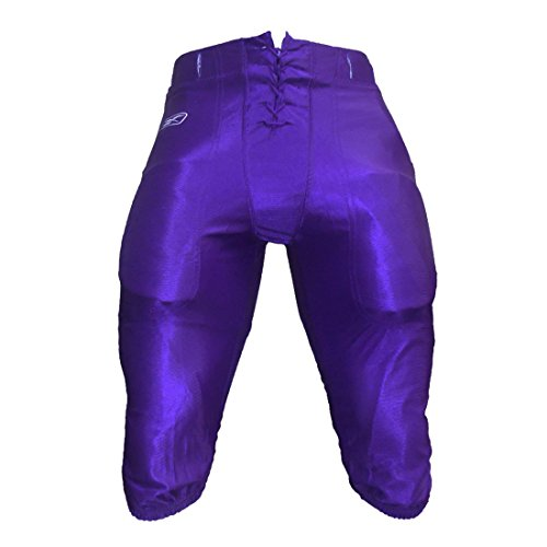 Reebok Adult Football Pants (XL (Dazzle Tunneled), Purple)