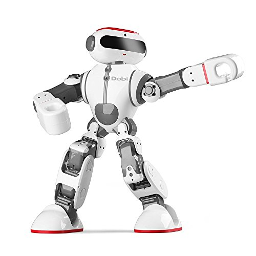 Intelligent Humanoid Robot Dobi Kids Toy Robot Voice/APP Control Toy with Dance/ Yoga/ Storytelling Kid's Suprise Gifts Accompany Friend by OUKU (Image #5)