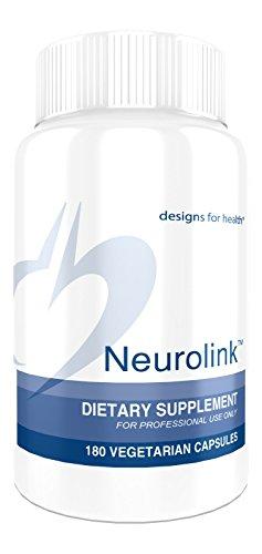 Designs for Health - Neurolink GABA Supplement, 180 Vegetarian Capsules