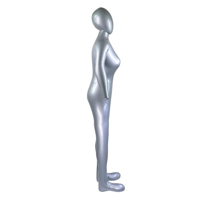 Amazon.com: Inflable cuerpo completo modelo femenino con ...