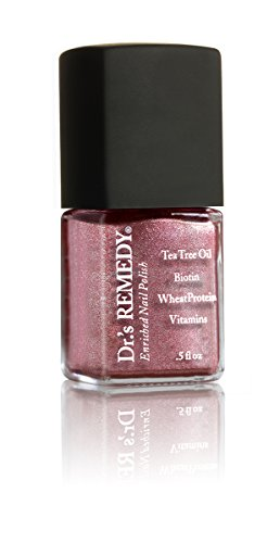 Dr.'s REMEDY Enriched Nail Polish, REFLECTIVE Rose, 0.5 fl. oz.