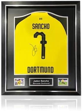 Desconocido Jadon Sancho - Camisa para el hogar firmada por ...