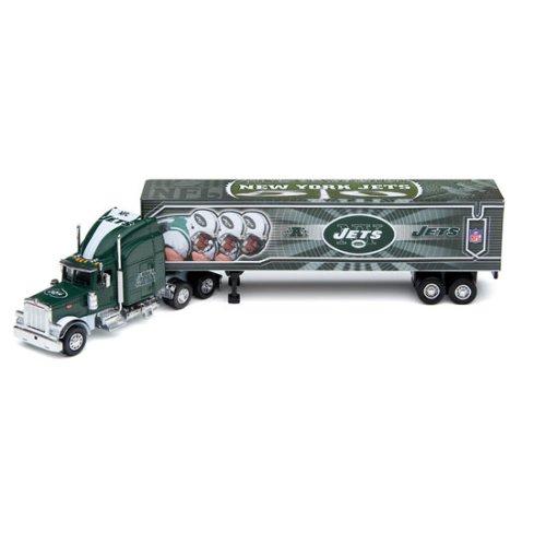 2006 Nfl Tractor Trailer (New York Jets 2006 NFL Peterbilt Tractor-Trailer)