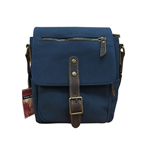 tnew-troop-london-trp-0340-unisex-casual-shoulder-bag-leather-canvas-fabric-lightly-waterproof