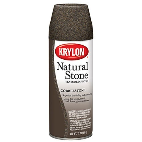 Krylon K03701000 Natural Stone Decorative Aerosol,  Cobblest