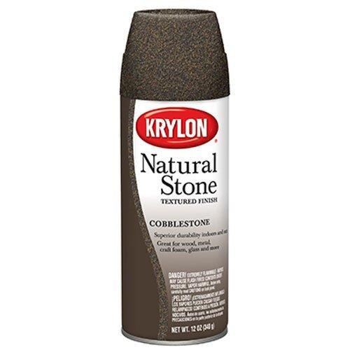 Krylon K03701000 Natural Stone Decorative Aerosol,  Cobblestone ()
