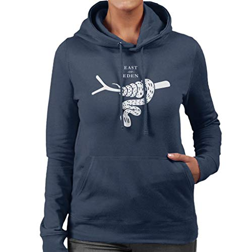 Of Eden Read East Women's Hooded Sweatshirt Book Navy Must Covers Blue wdI7qxSXX